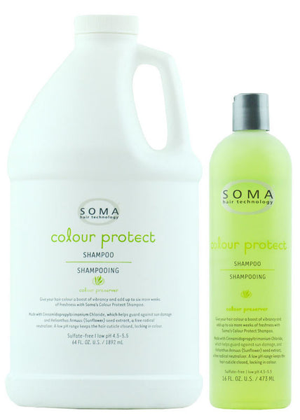 Damaged Hair Care Treatments Conditioners, SOMA Colour Protect Shampoo