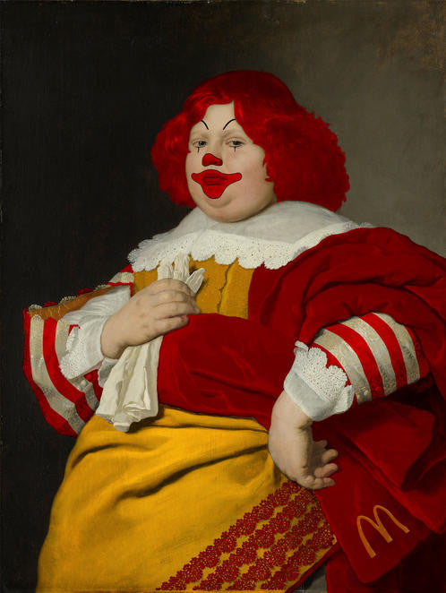 "Magnus Gjoen ""A Young Boy of Uncertain Victory"" McDonalds Clown"