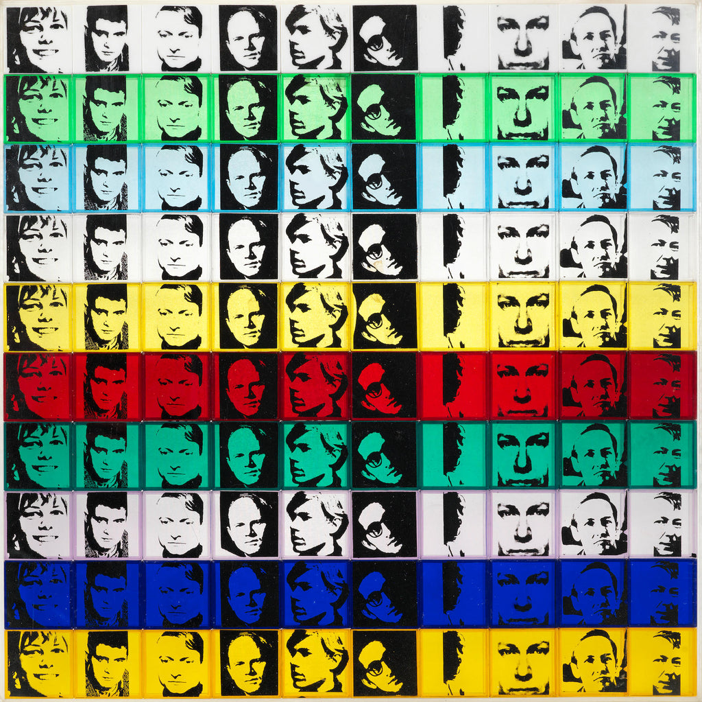 "Andy Warhol ""Portrait of the Artists"" Leo Castelli"