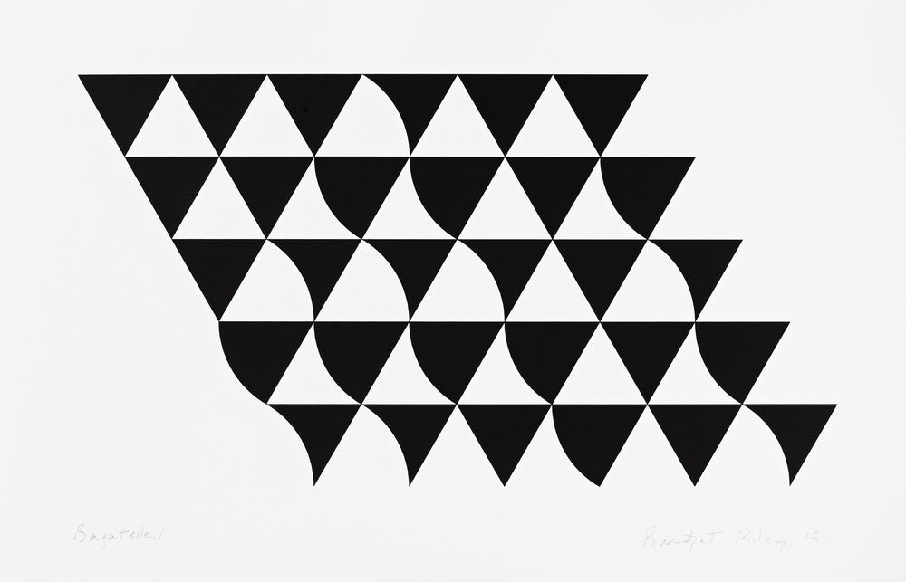 "Bridget Riley ""Bagatelle 1"""