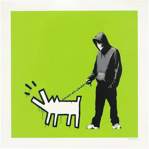 Banksy Choose Your Weapon Signed Screen Print CYW