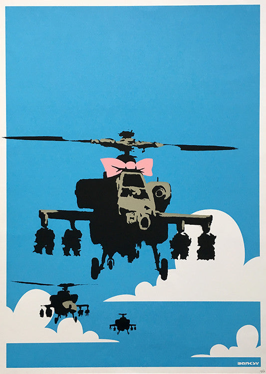 Banksy Happy Choppers Auction