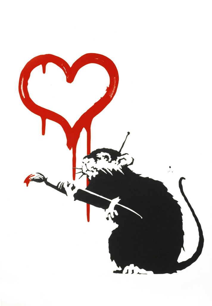 Banksy Love Rat Investment