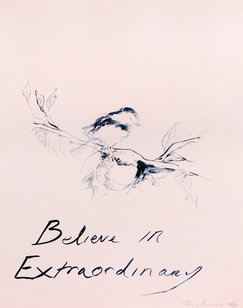 "Tracey Emin ""Believe In Extraordinary"""