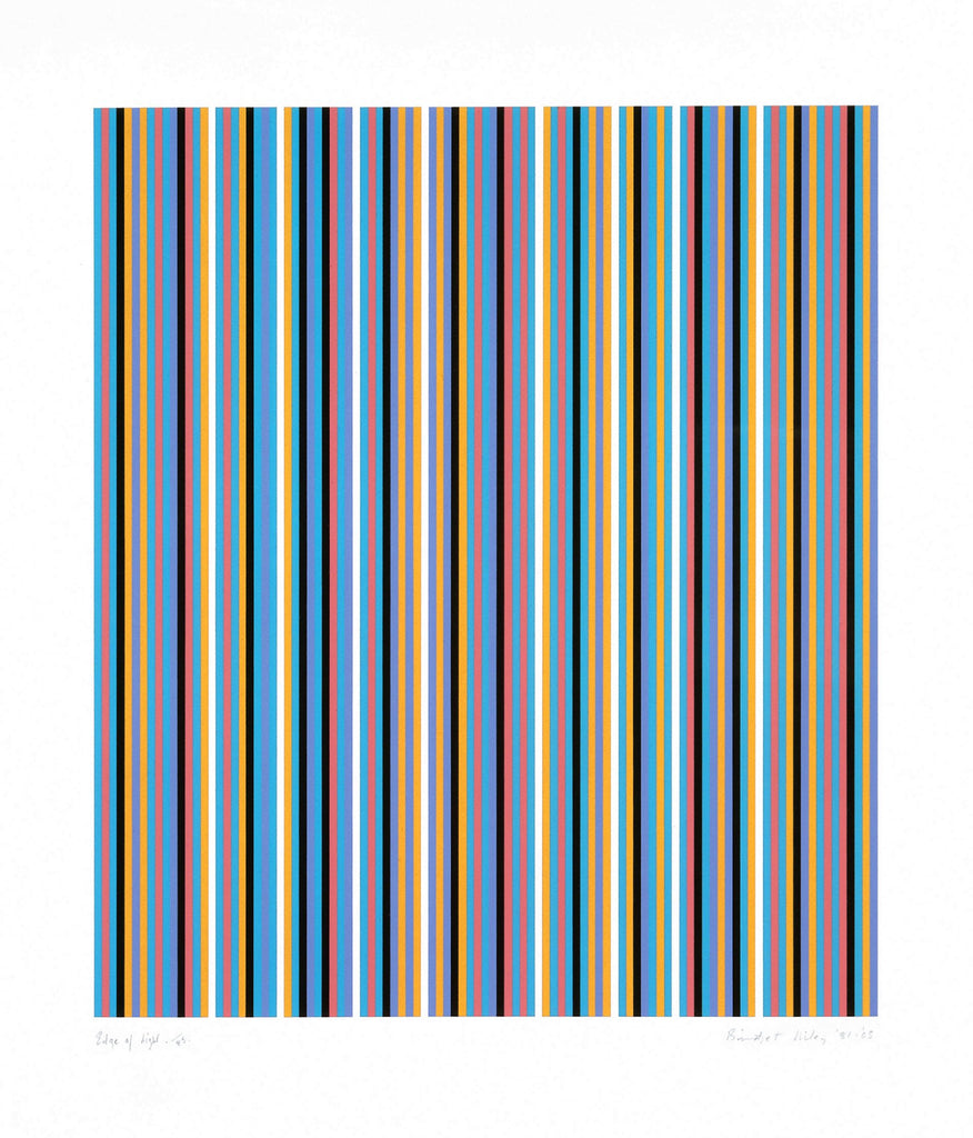 "Bridget Riley ""Edge of Light"""