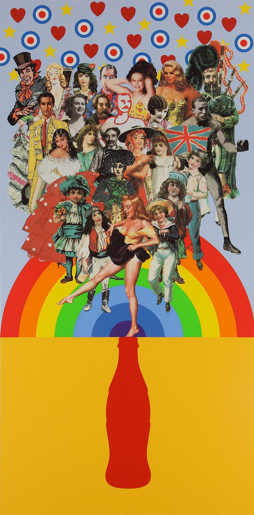 "Peter Blake ""Summer Days"" Screen Print"