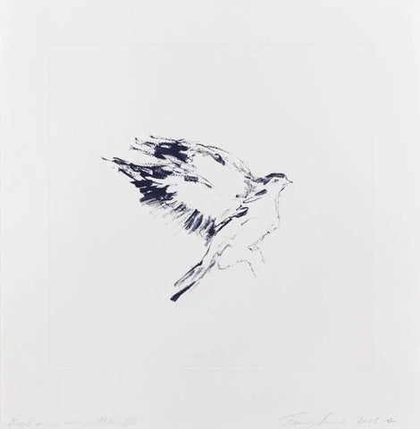 "Tracey Emin ""Bird on a Wing After DB"""