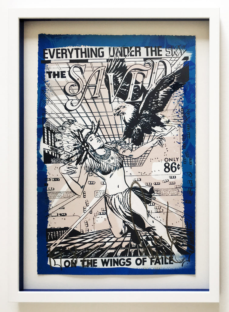 "Faile ""Saved"" Signed Print"