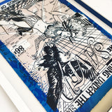"Faile ""Saved"" Framing Mr Frame Man"