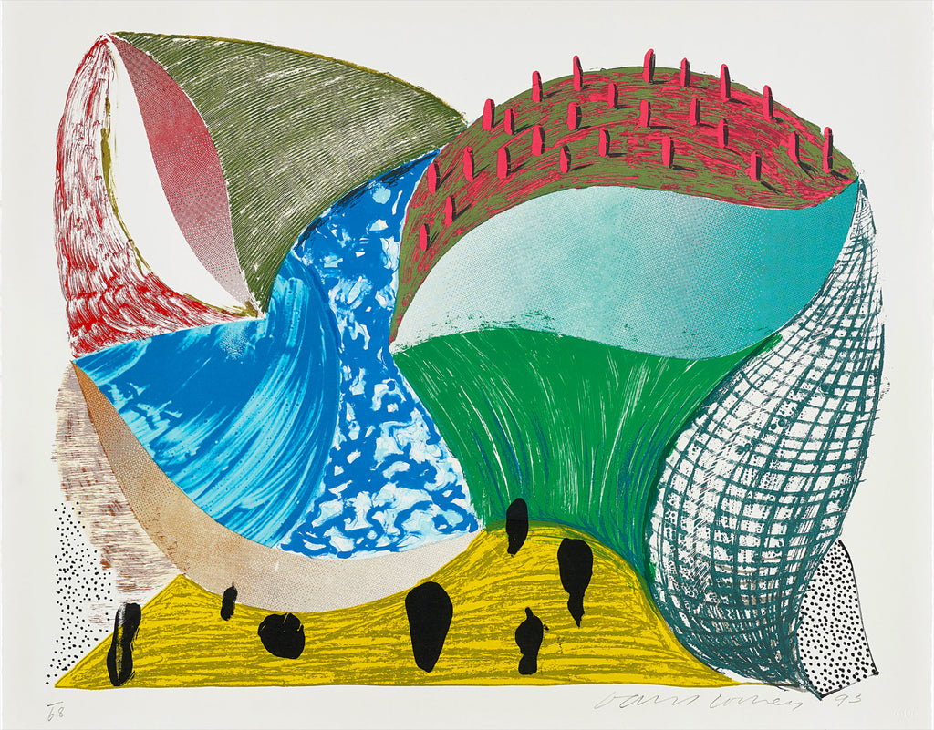 "David Hockney ""George D'incre"""