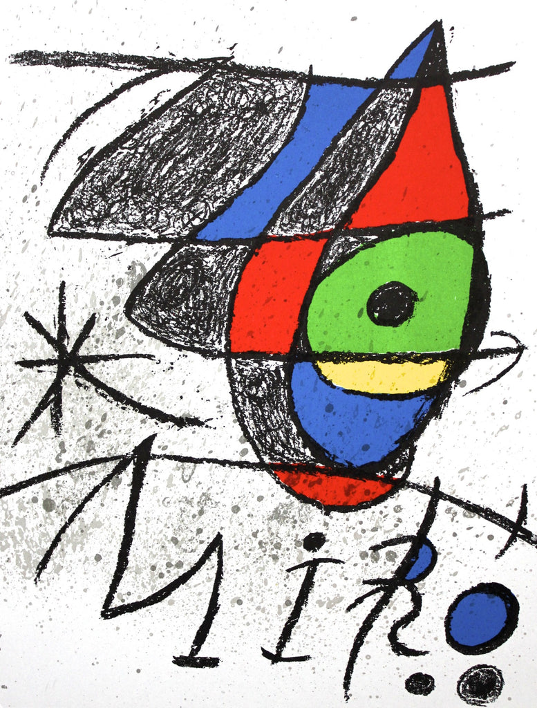 "Joan Miro ""Untitled I"""
