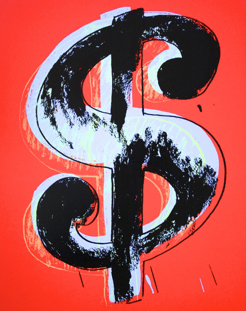 "Andy Warhol ""Dollar"" Sunday B Morning"