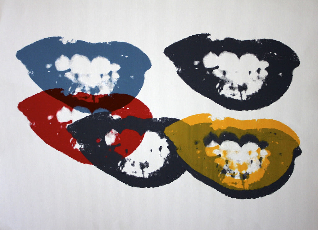 "Andy Warhol ""I Love Your Kiss"" Sunday B Morning"