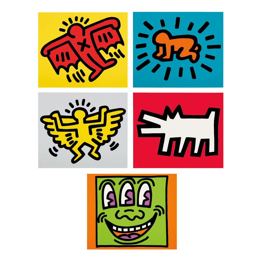 "Keith Haring ""Icons"" Folio"