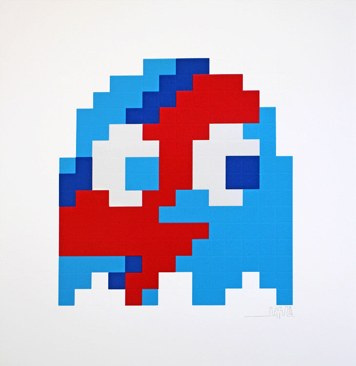 "Space Invader ""Aladdin Sane"" Blue"