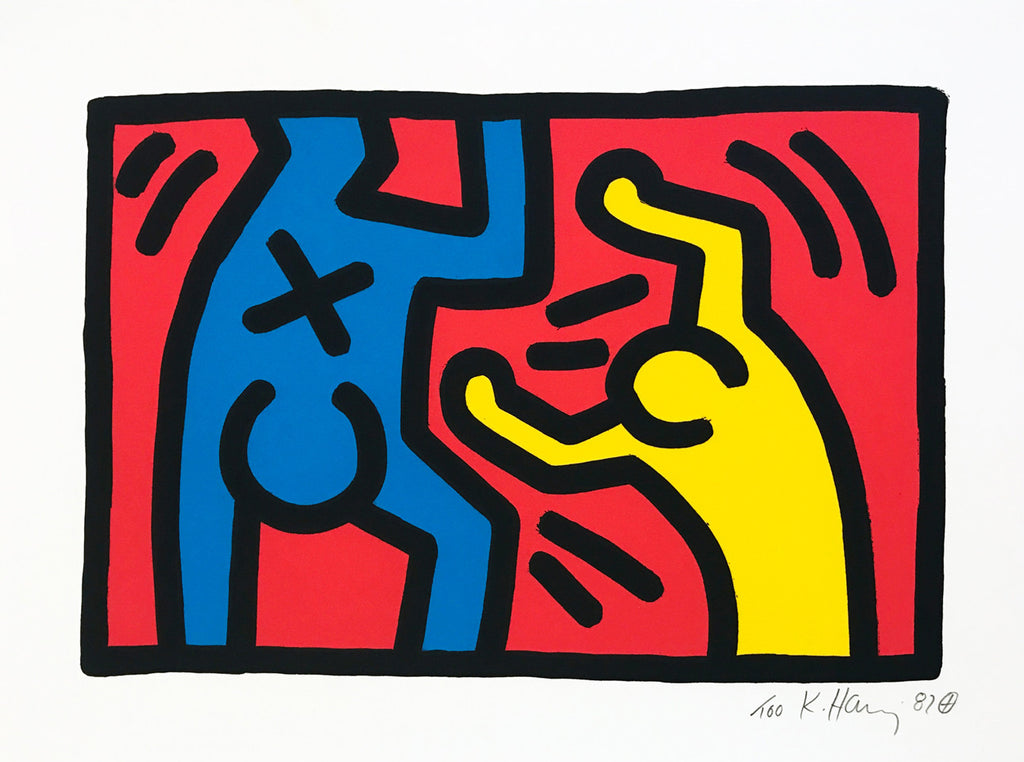 "Keith Haring ""Untitled"" 1987 Party"