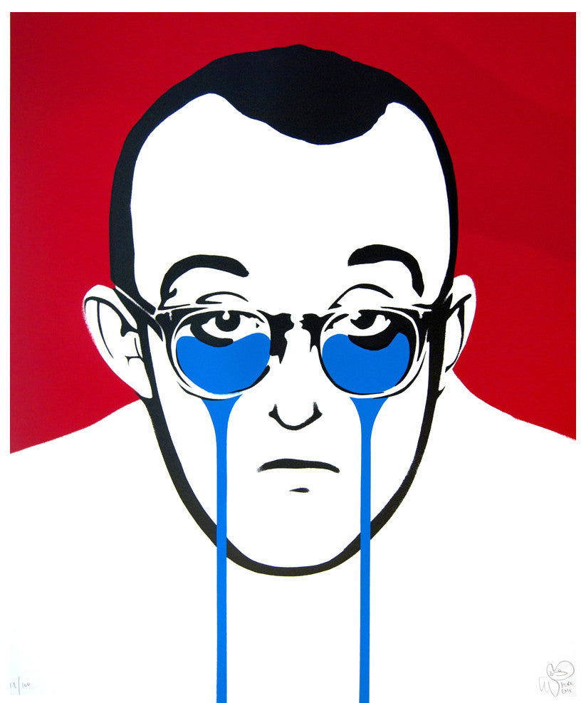 Pure Evil Keith Haring