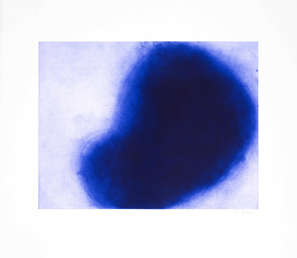 "Anish Kapoor ""Untitled"" (Blue) from 12 Etchings"