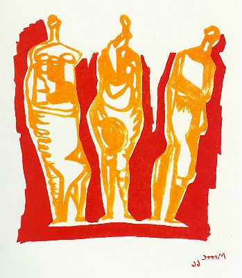 "Henry Moore ""Three Standing Figures"""