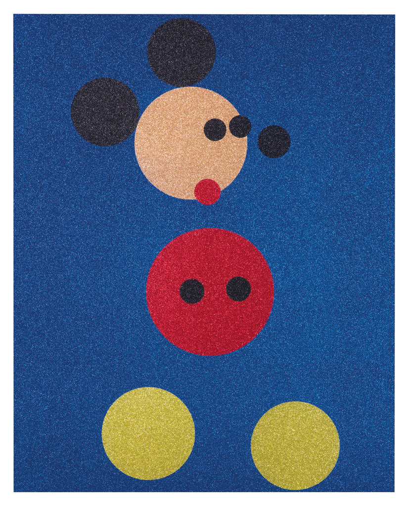 Damien Hirst Mickey Mouse Glitter