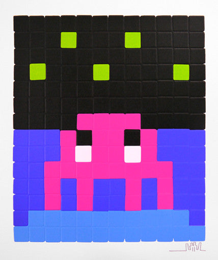 "Space Invader ""Pink Space One"""