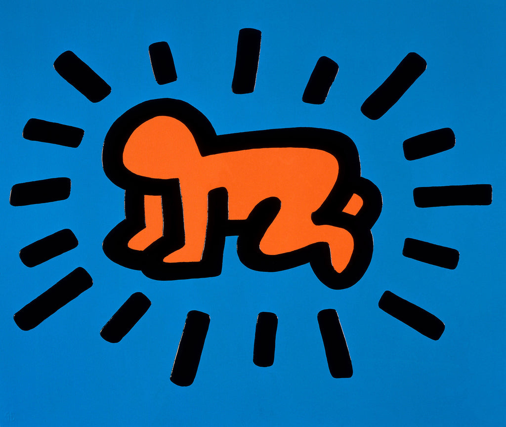 Keith Haring Radiant Baby Print 1990