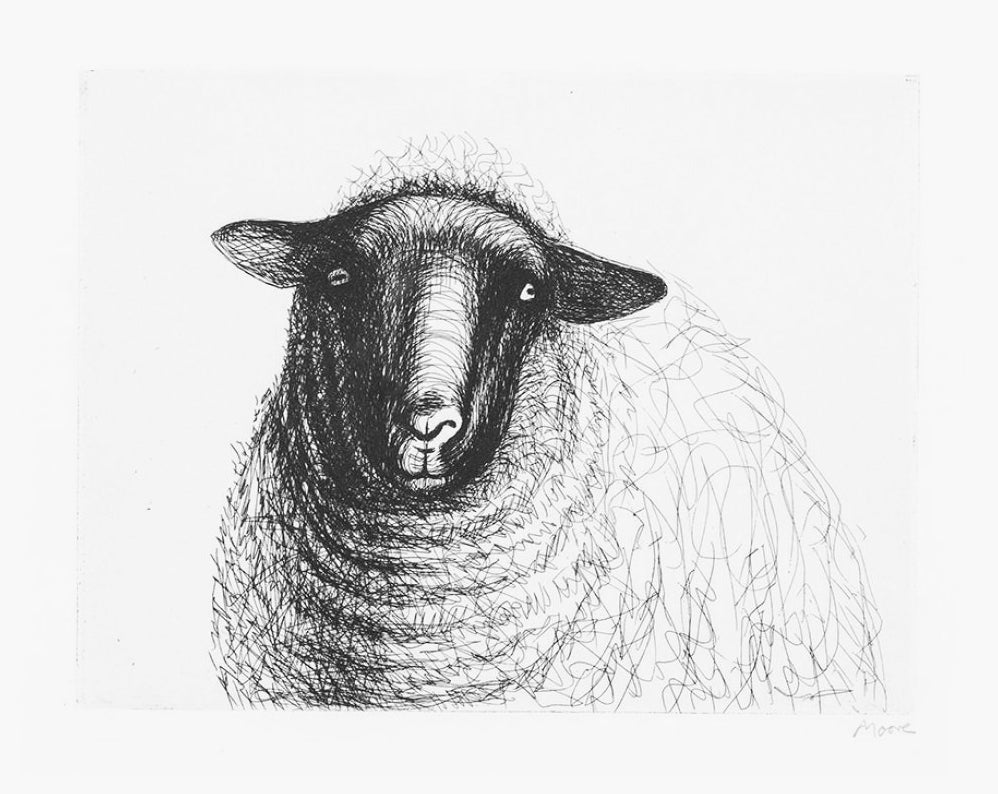 "Henry Moore ""Sheep's Head"""