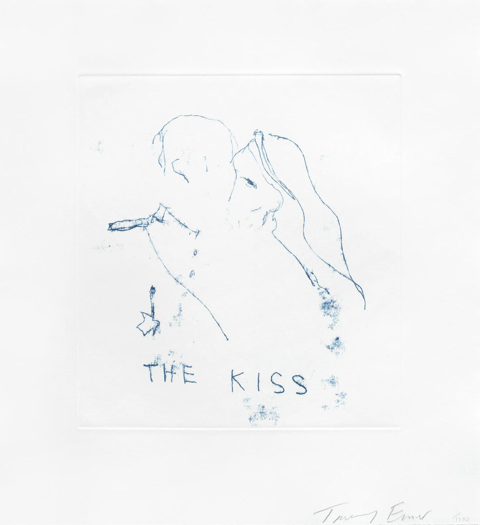 "Tracey Emin ""The Kiss"" Royal Wedding"