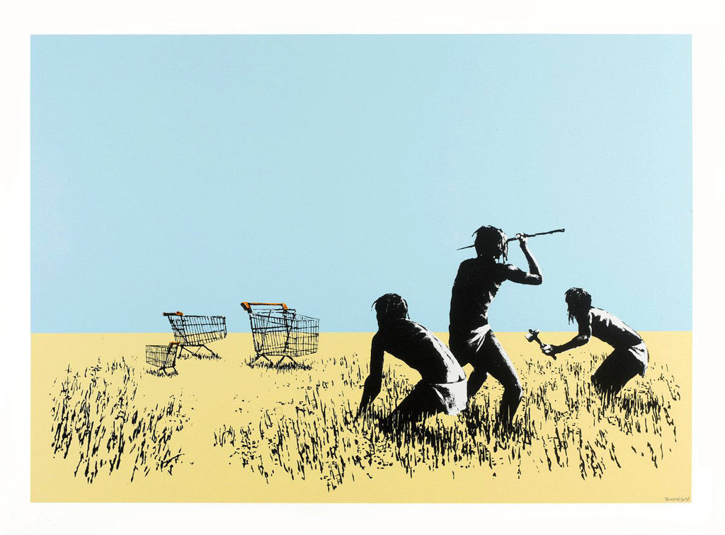 Banksy Trolley Hunters / British Museum Hoax