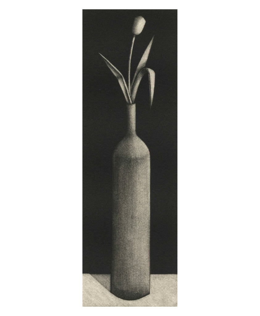 "Nicolas Party ""Tulip in a Bottle"" Mezzotint"