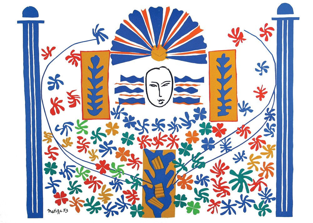 "Matisse ""Apollon"" Lithograph"