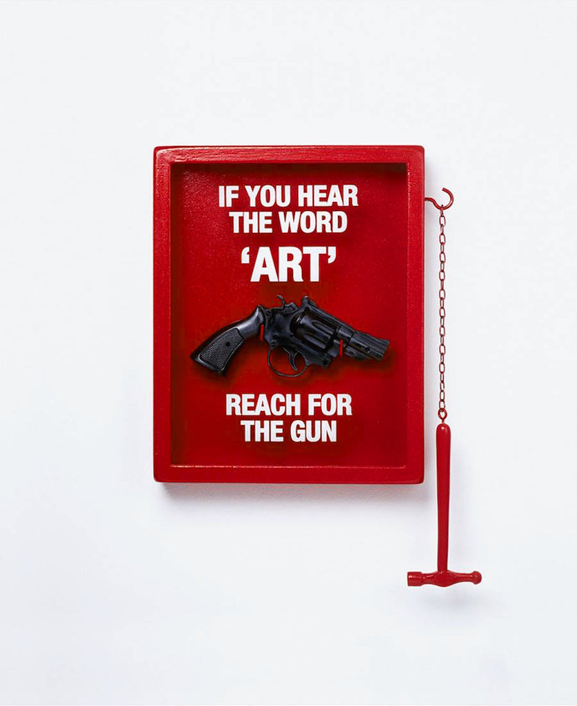 "Nancy Fouts ""If You Hear The Word 'Art' Reach For The Gun"" 2011"