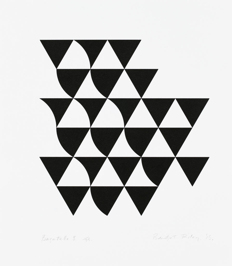 "Bridget Riley ""Bagatelle 3"""