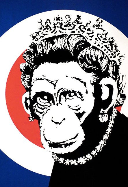 "Banksy ""Monkey Queen"""