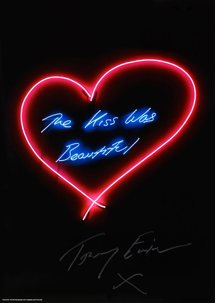 "Tracey Emin ""The kiss was beautiful"""