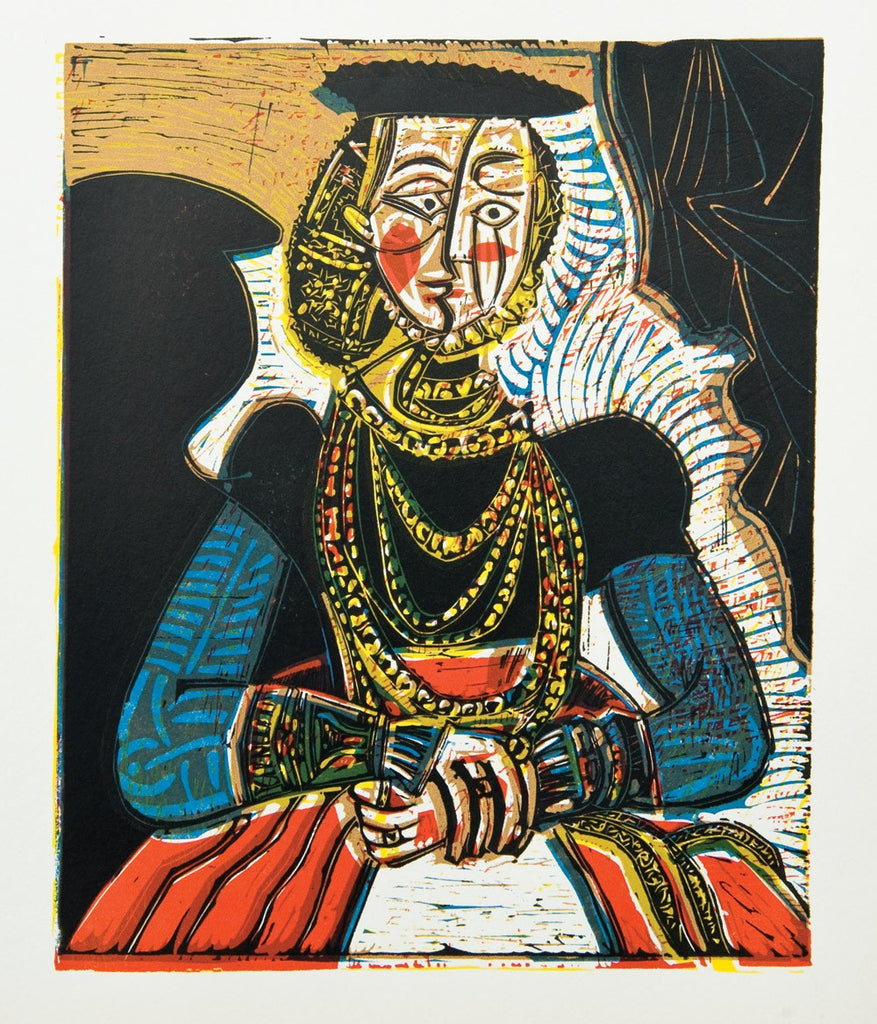 "Picasso ""Portrait of a Lady, after Lucas Cranach the Younger"""