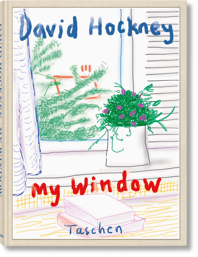 "David Hockney ""My Window"" BABY SUMO by Taschen"