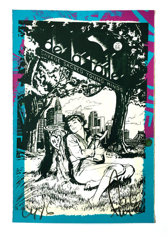 "Faile ""De la faile"" 150 Series Signed Print"