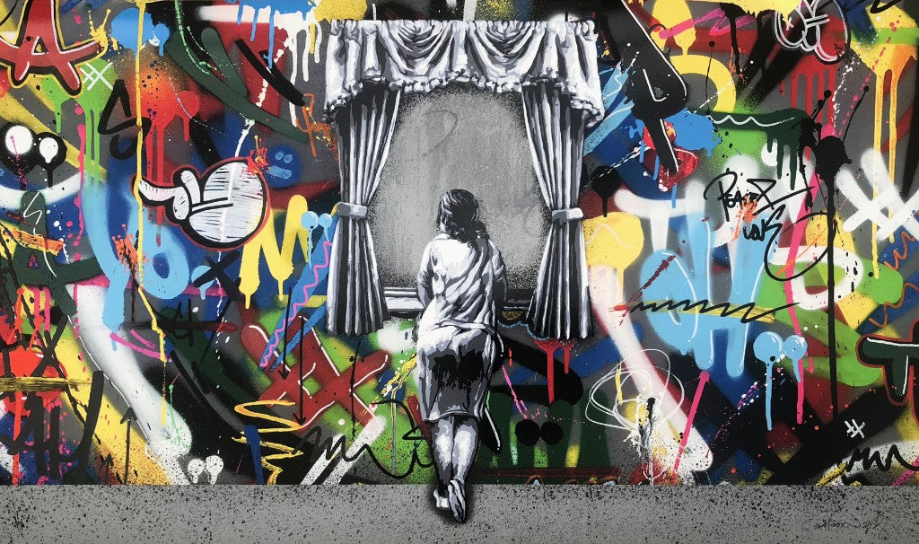 "Martin Whatson ""Figure At The Window"" Print"
