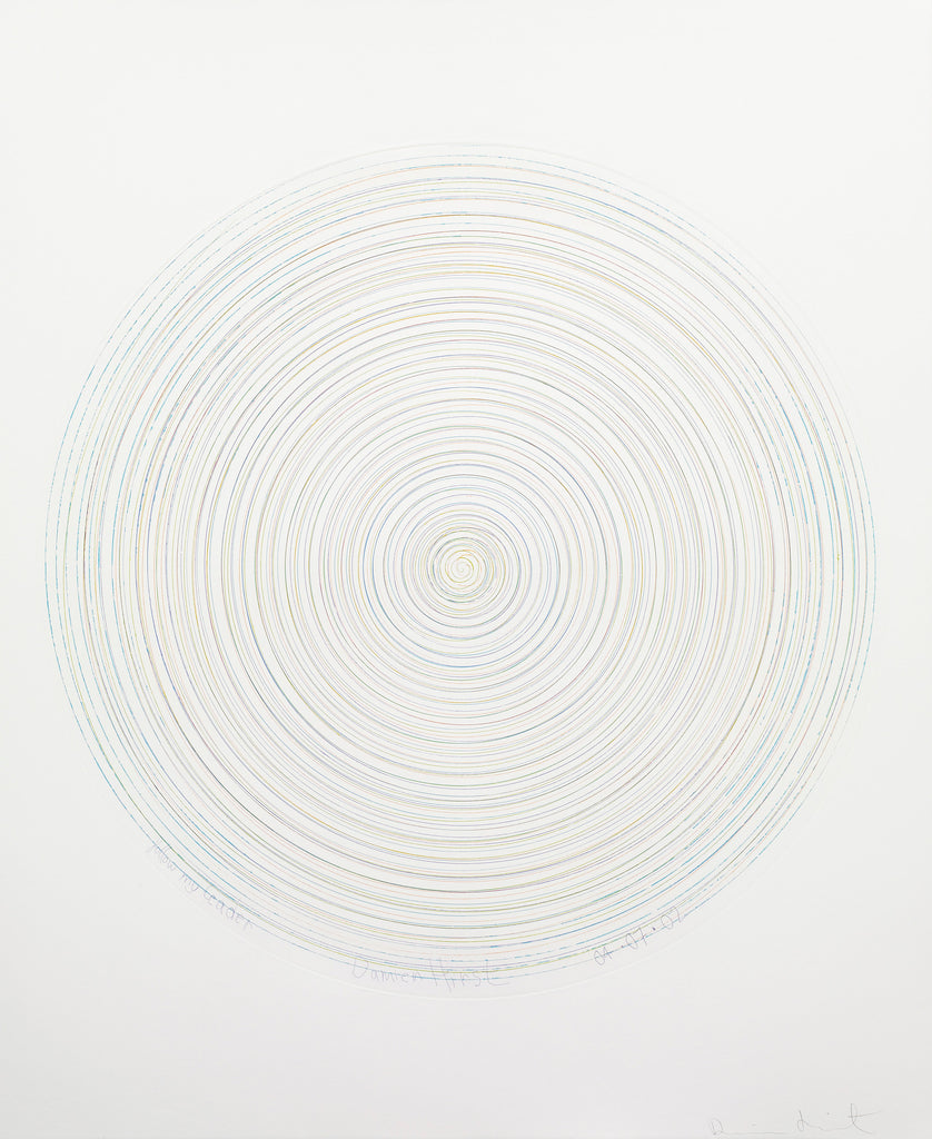 Damien Hirst Spin Painting Etching Print