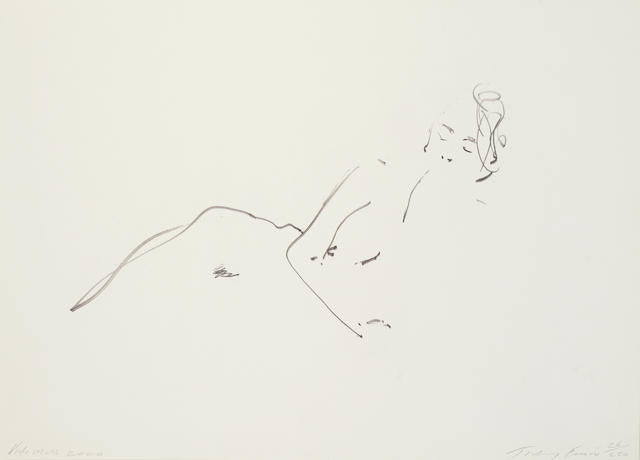 Tracey Emin Kate Moss Signed Print