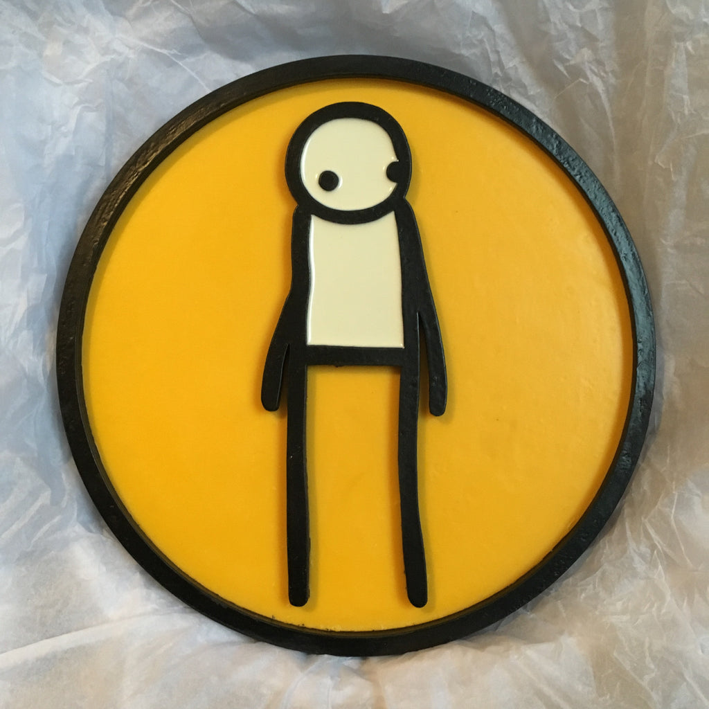 "Stik ""Heritage Plaque"" Yellow"