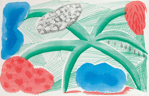 "David Hockney ""Landscape with a Plant"""