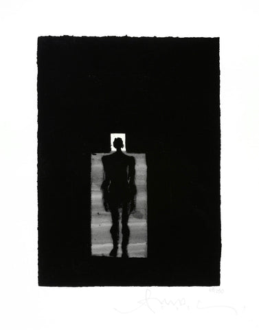 Antony Gormley Room signed limited edition print