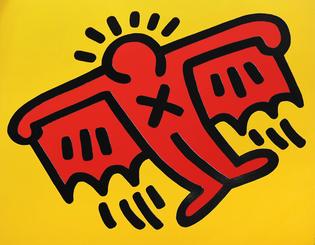 "Keith Haring ""Flying Devil"""