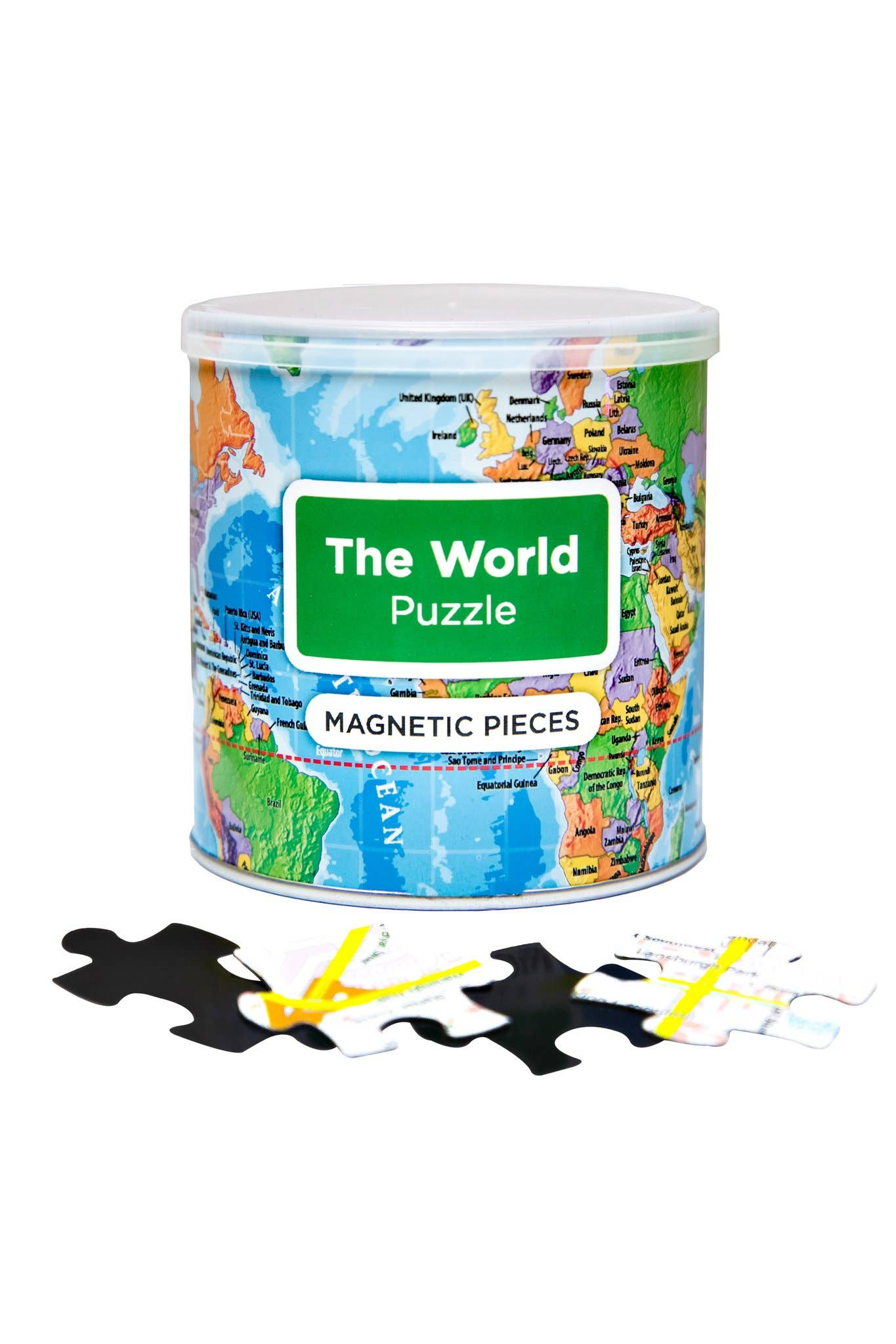 Geotoys - Magnetic Puzzle World