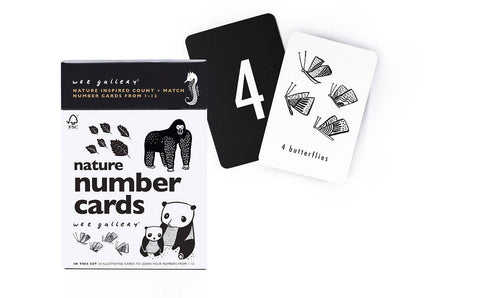 Wee Gallery - Nature Number Cards