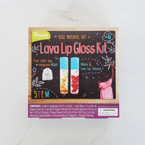 Kiss Naturals - KISS NATURALS DIY LAVA LIP GLOSS KIT