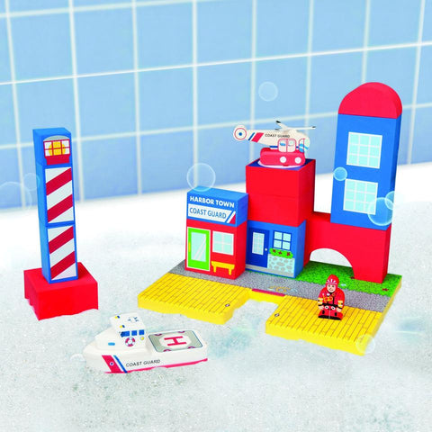 BathBlocks Coast Guard Set in Gift Box