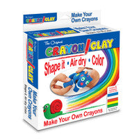 Crayon Clay - 50g, 5 Colors
